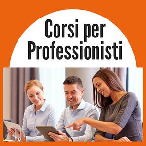 DIVENTA un PROFESSIONISTA : Corsi di Formazione Specialistici - - Per Informazioni Numero Verde 800-089590
