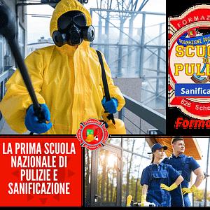 Scuola di Pulizia e Sanificazione : Nasce la Prima Scuola Italiana di Pulizia e Sanificazione -Per Informazioni Numero Verde 800-089590